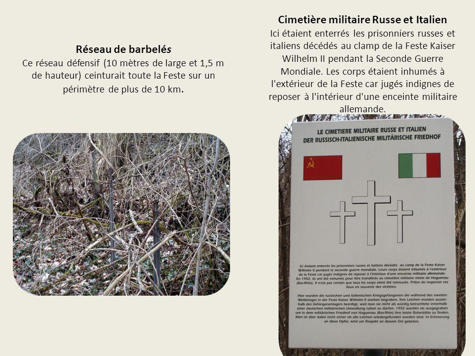 Cimetière militaire Russe et Italien