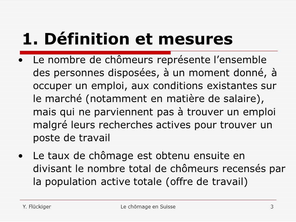 1. Définition et mesures