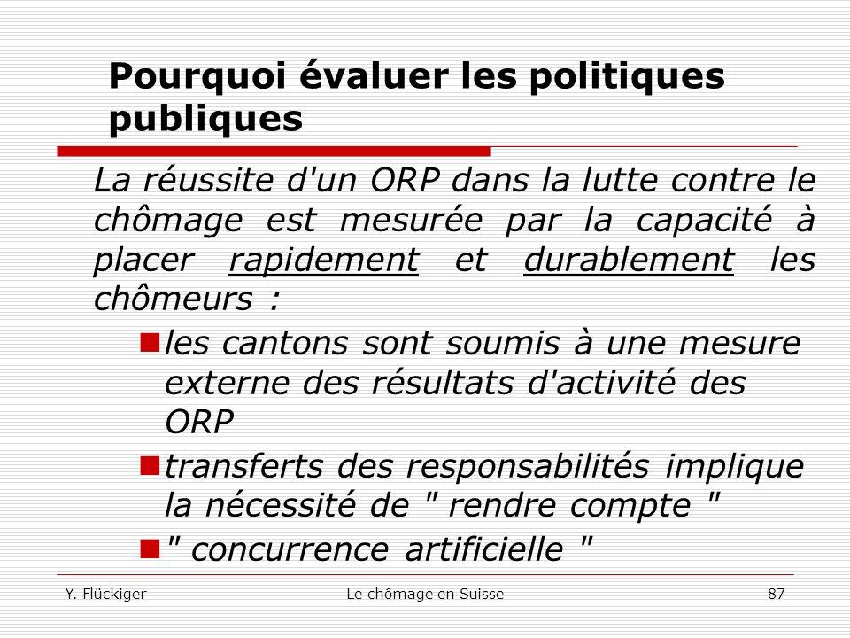 Pourquoi évaluer les politiques publiques