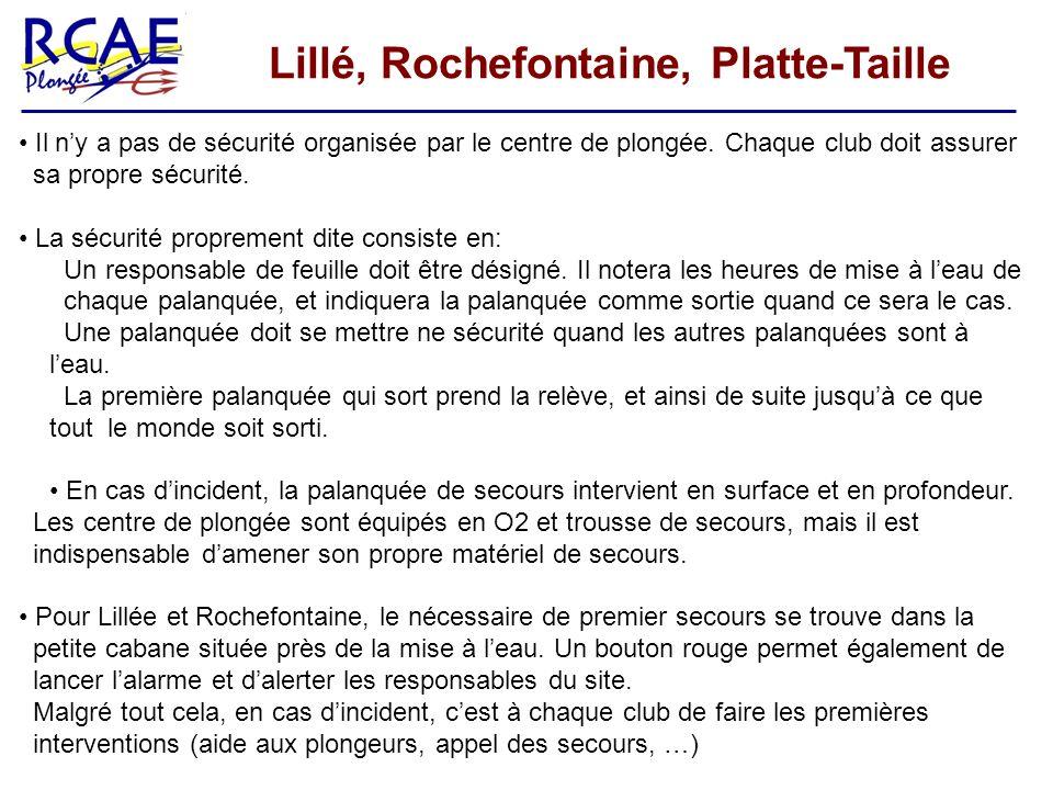 Lillé, Rochefontaine, Platte-Taille