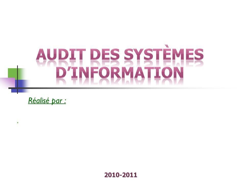 Audit des systèmes d'information