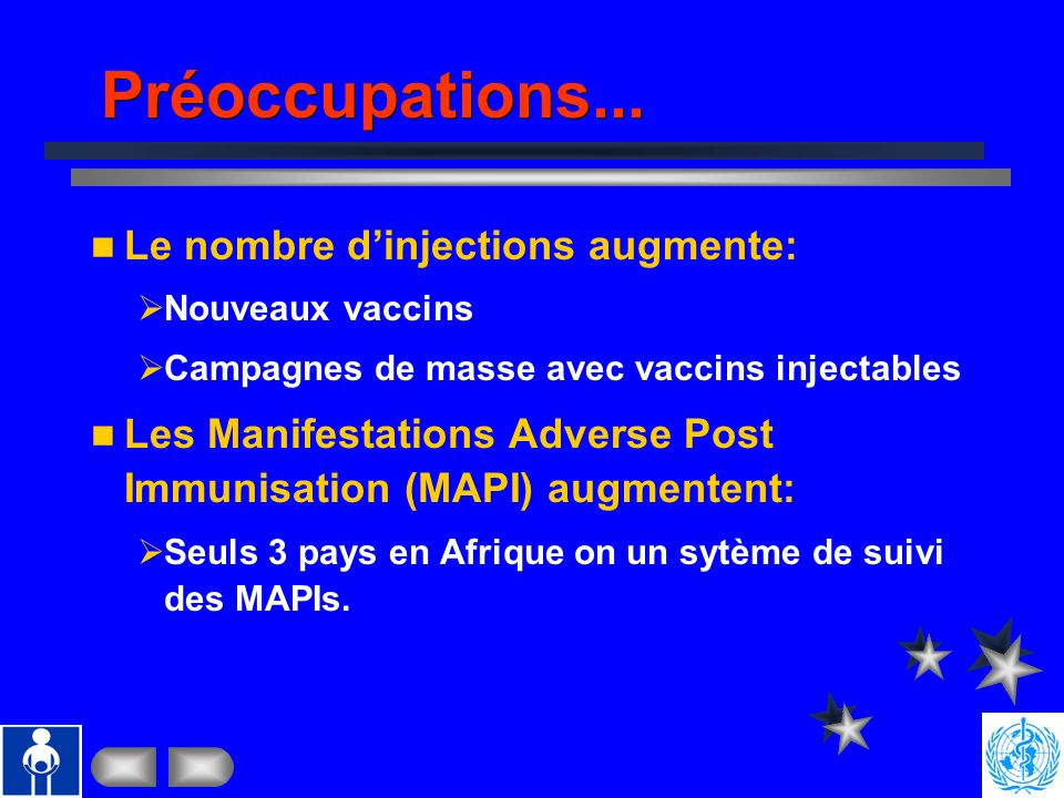 Préoccupations... Le nombre d'injections augmente: