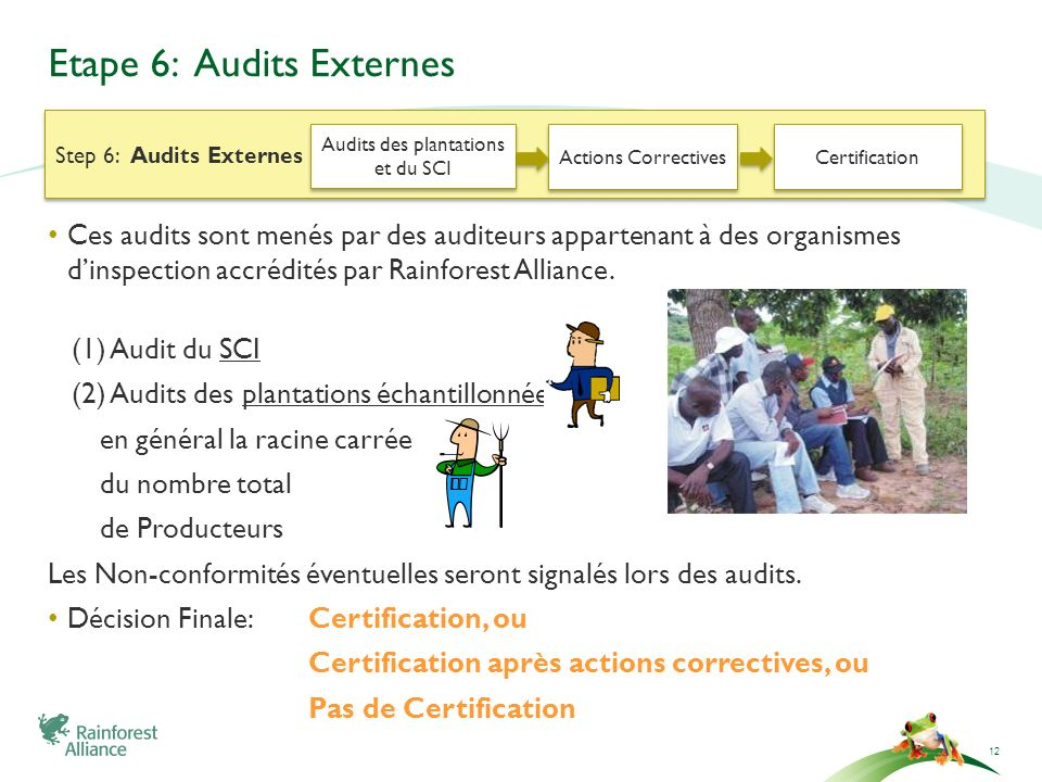 Etape 6: Audits Externes
