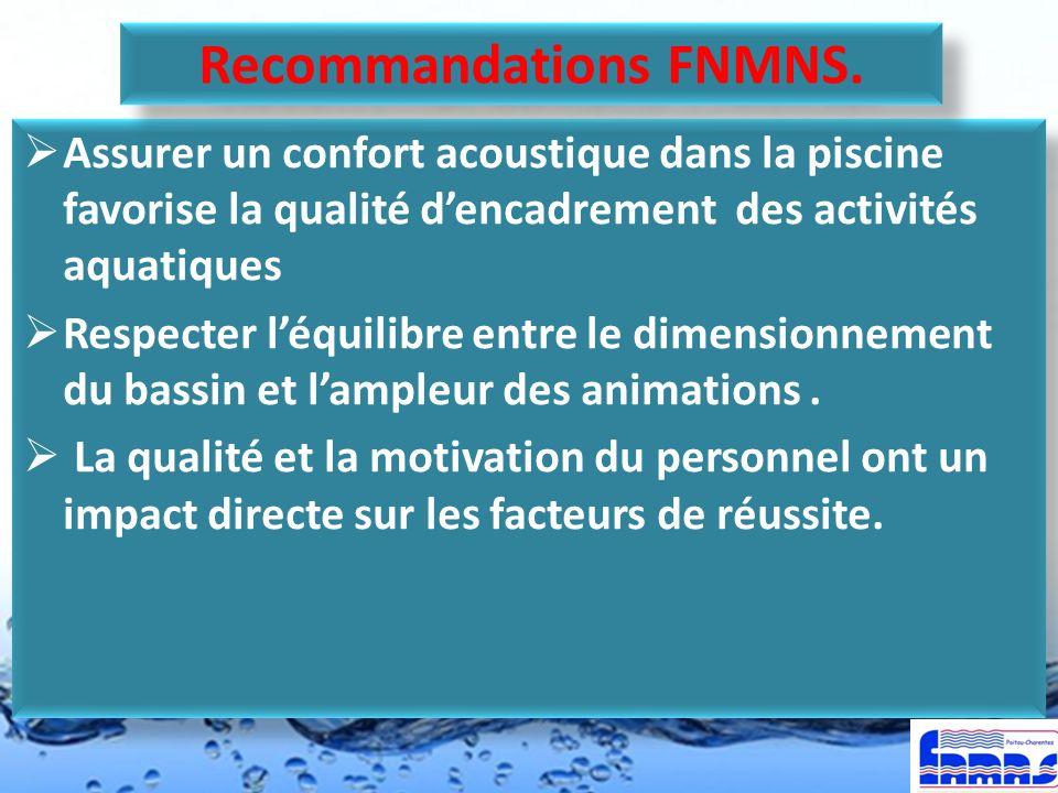 Recommandations FNMNS.