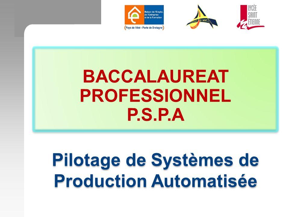 Pilotage de Systèmes de Production Automatisée