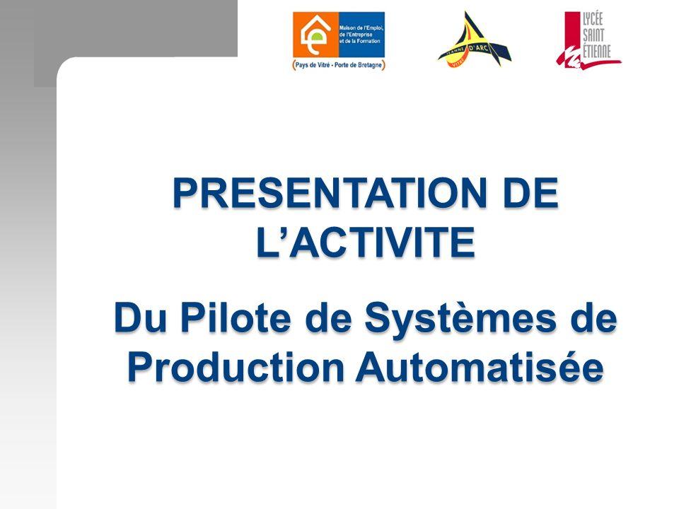 PRESENTATION DE L'ACTIVITE