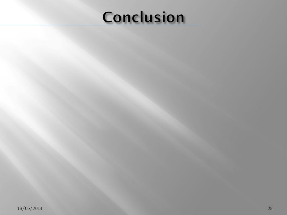 Conclusion 31/03/2017