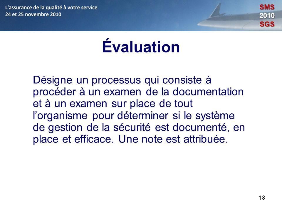 Module 8: L'assurance de la qualité