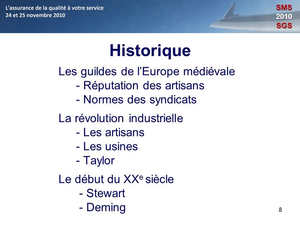 Historique Les guildes de l'Europe médiévale - Réputation des artisans