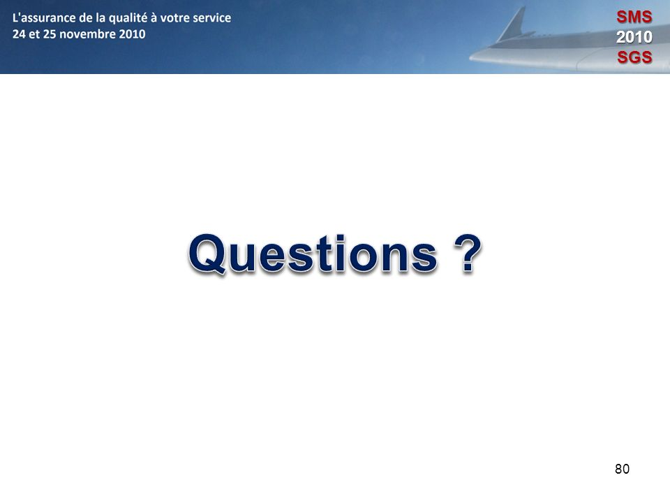 SMS 2010 SGS Questions 80