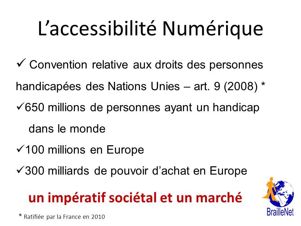 L'accessibilité Numérique