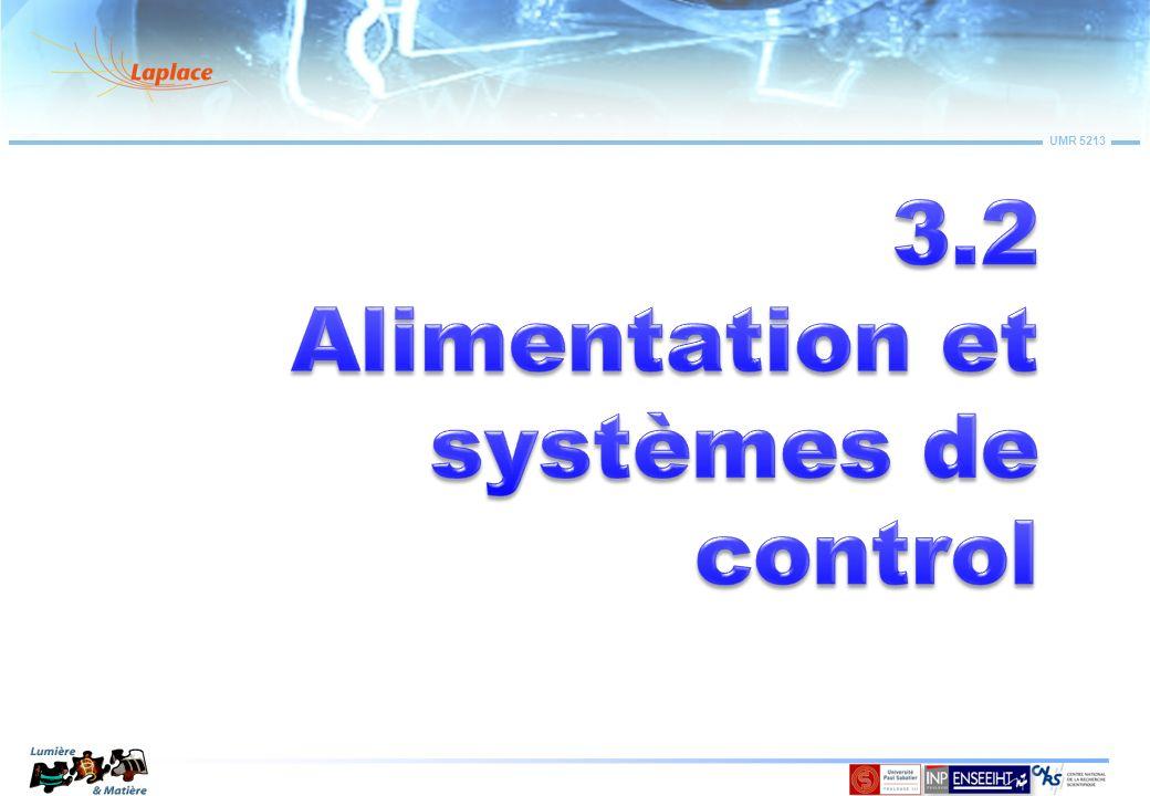 3.2 Alimentation et systèmes de control