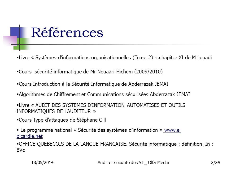 Audit et s curit des syst mes d information ppt video - Office quebecois de la langue francaise ...