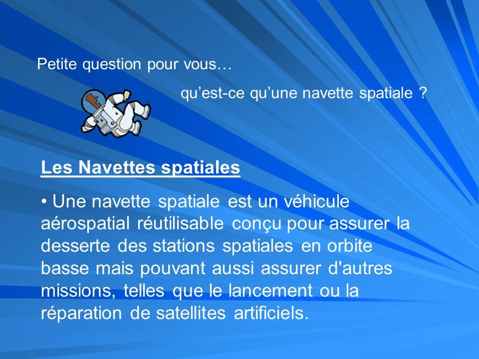 Les Navettes spatiales