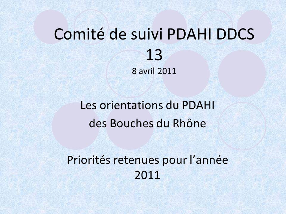 Comité de suivi PDAHI DDCS 13 8 avril 2011