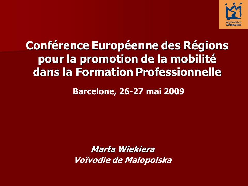 Conférence Européenne des Régions pour la promotion de la mobilité