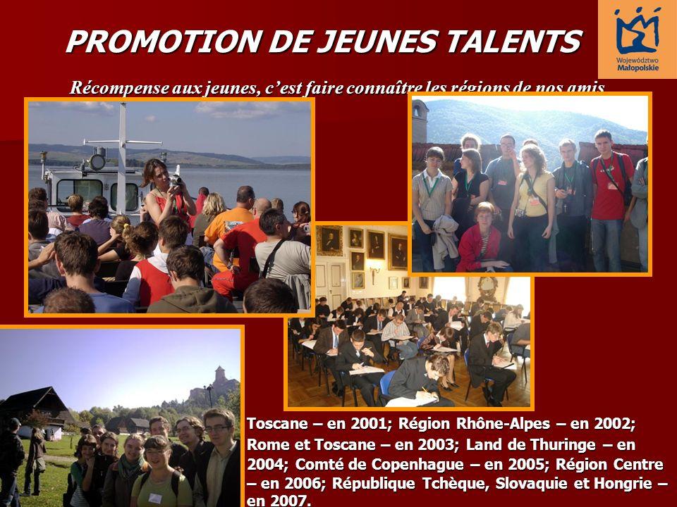 PROMOTION DE JEUNES TALENTS