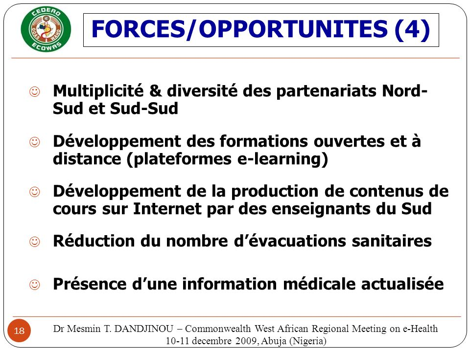 FORCES/OPPORTUNITES (4)