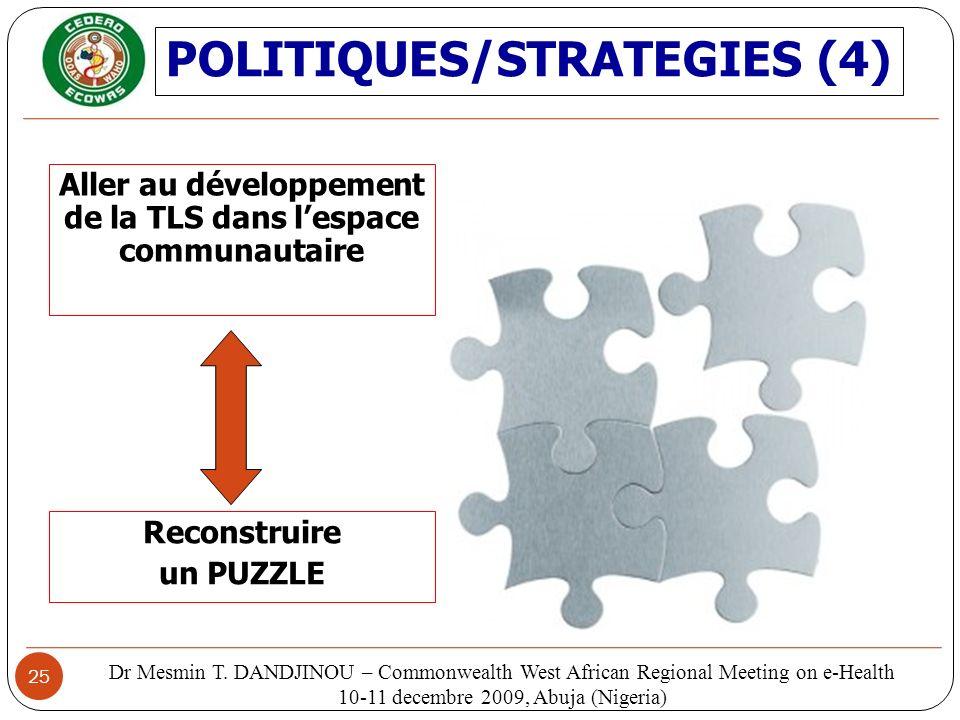 POLITIQUES/STRATEGIES (4)