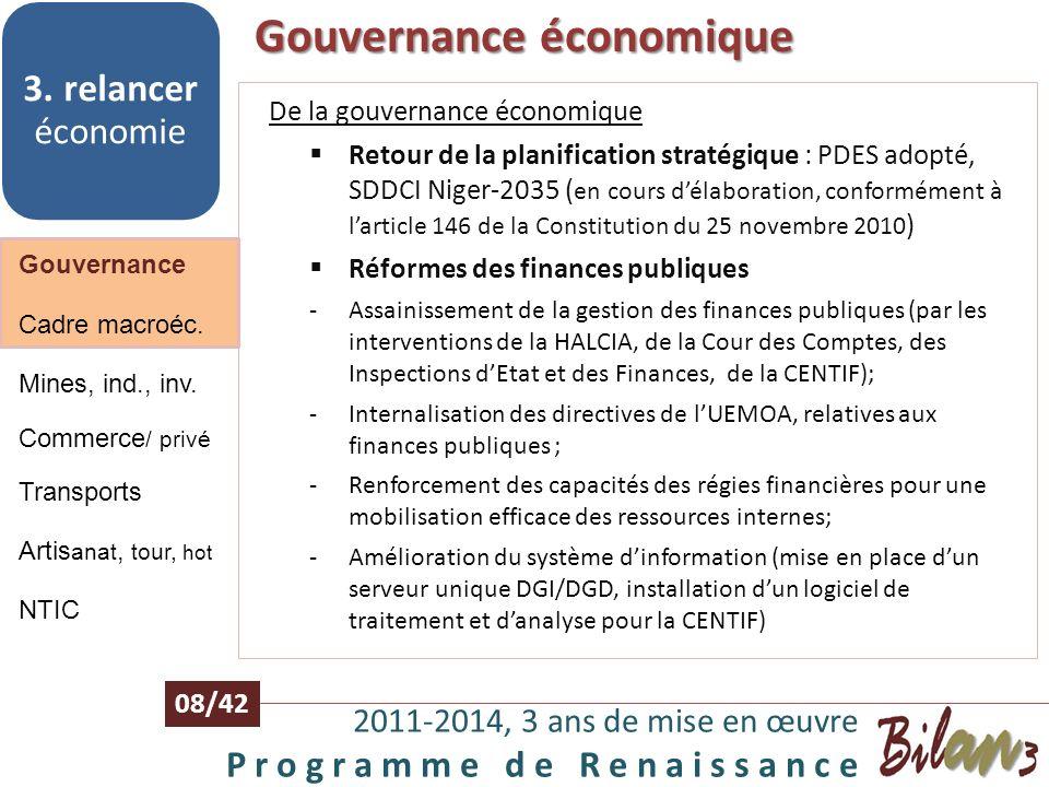 Gouvernance économique