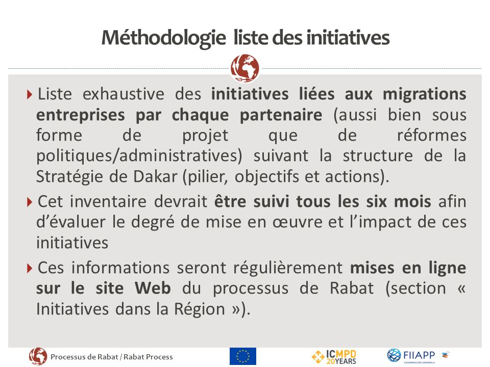 Méthodologie liste des initiatives