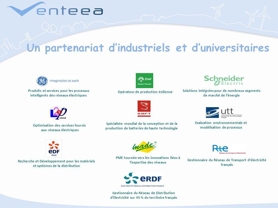 Un partenariat d'industriels et d'universitaires