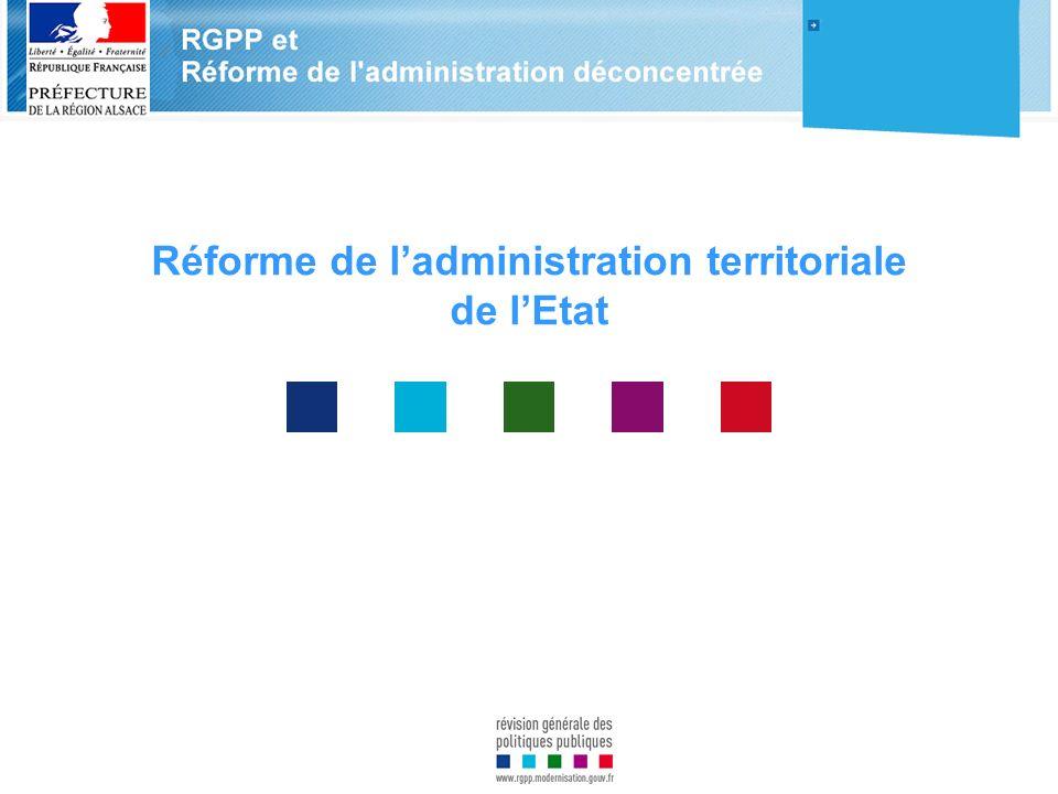 Réforme de l'administration territoriale