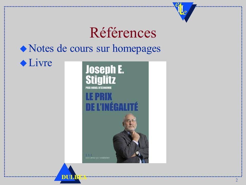 Références Notes de cours sur homepages Livre :