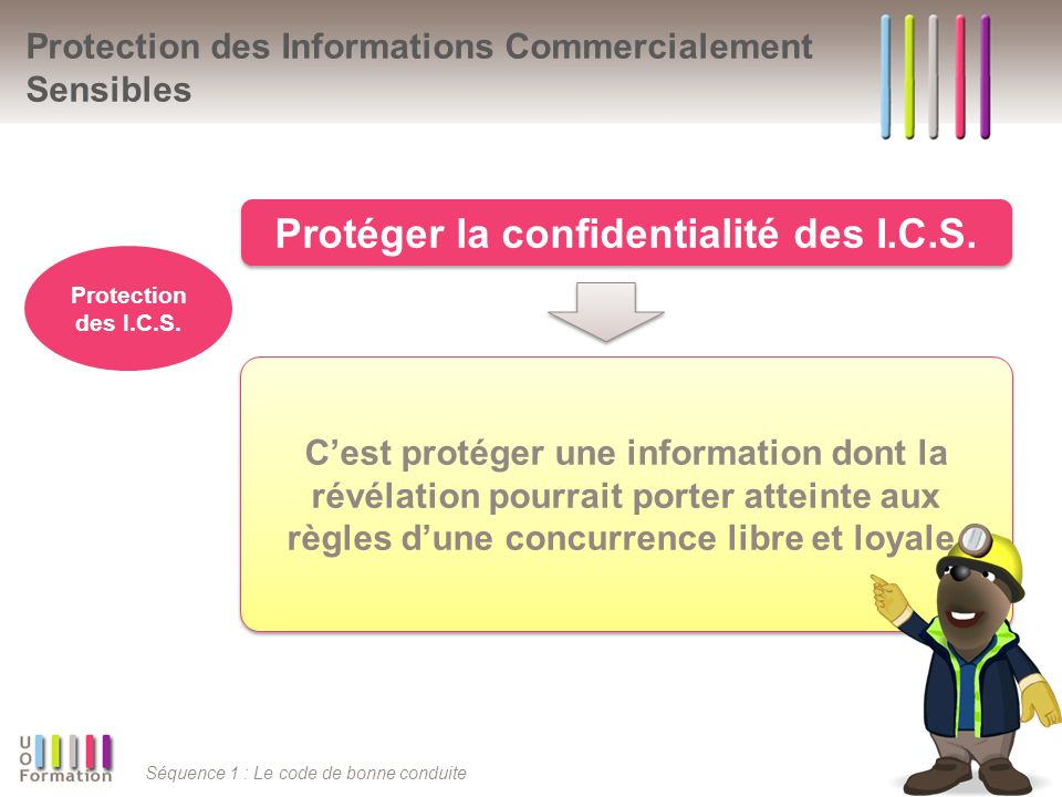 Protection des Informations Commercialement Sensibles