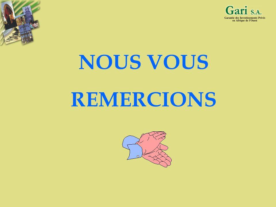 NOUS VOUS REMERCIONS