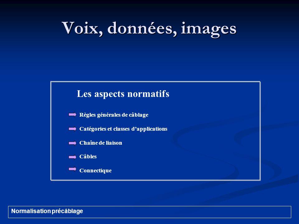 Voix, données, images Les aspects normatifs