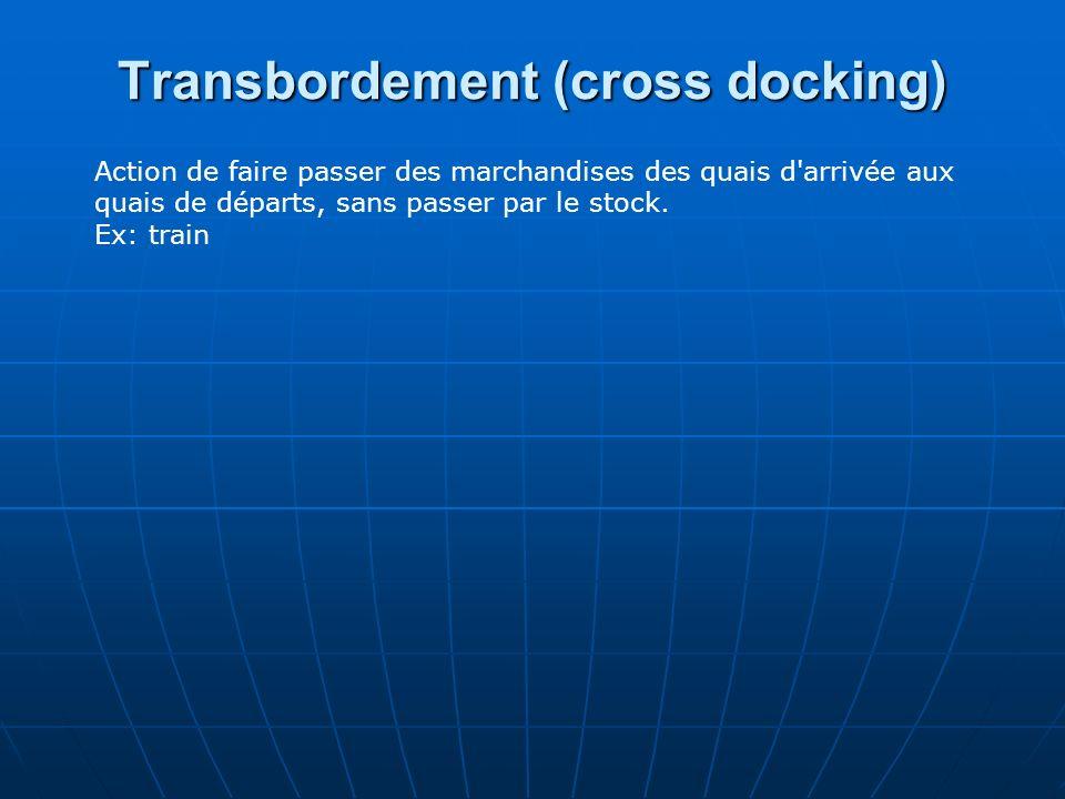 Transbordement (cross docking)