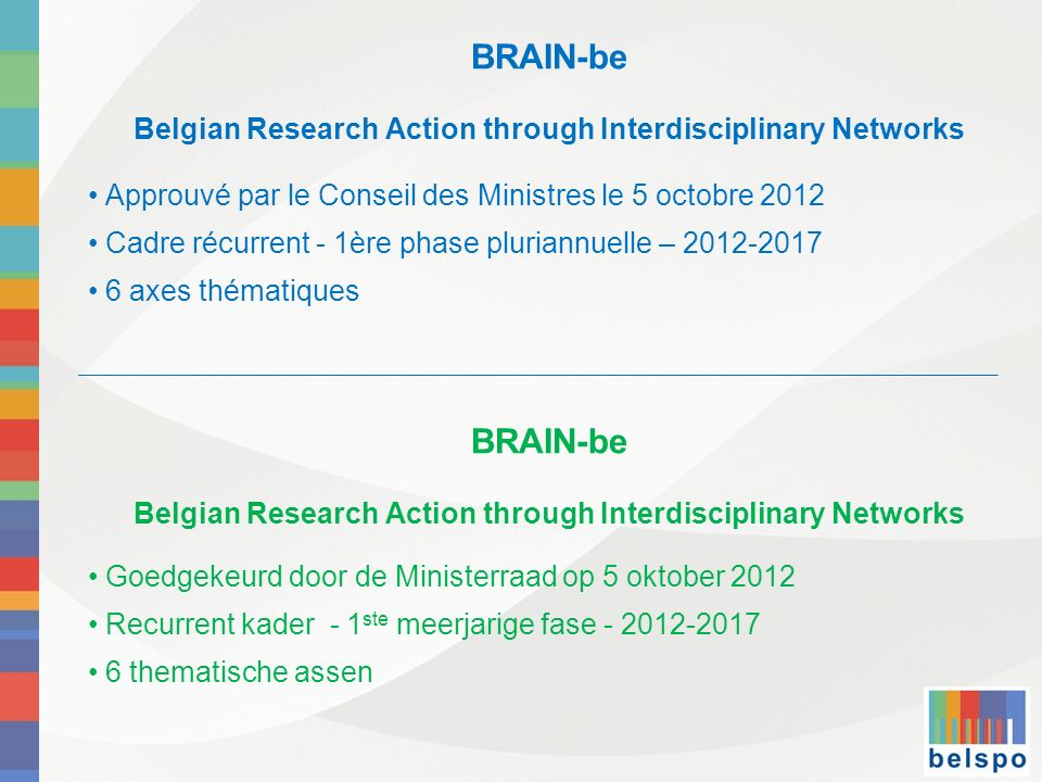 Belgian Research Action through Interdisciplinary Networks