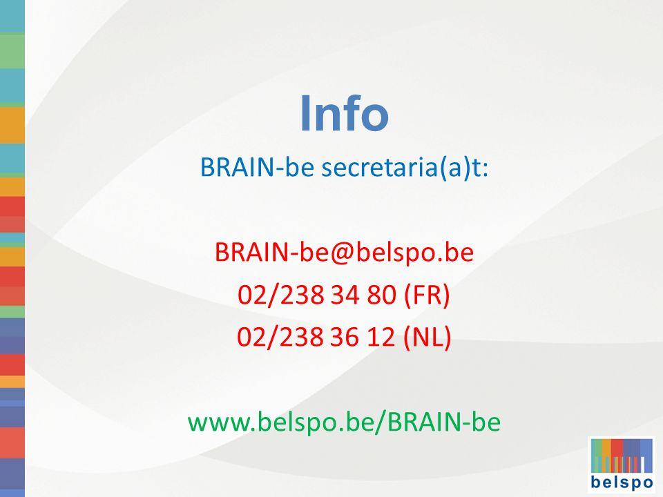 BRAIN-be secretaria(a)t: