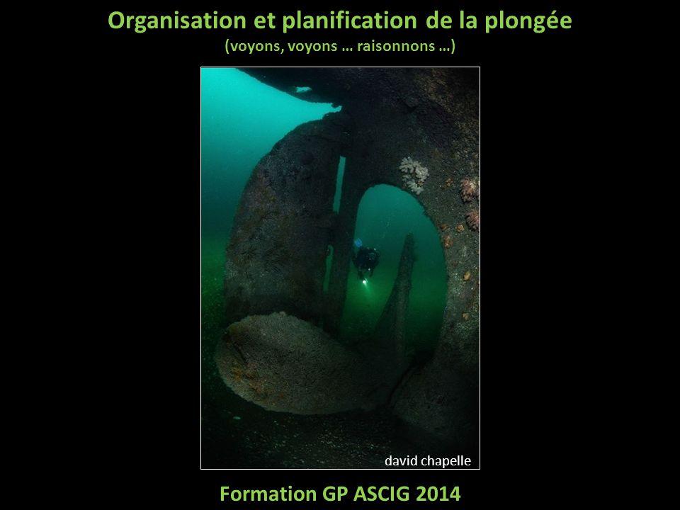 Organisation et planification de la plongée