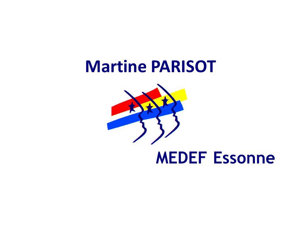 Martine PARISOT MEDEF Essonne
