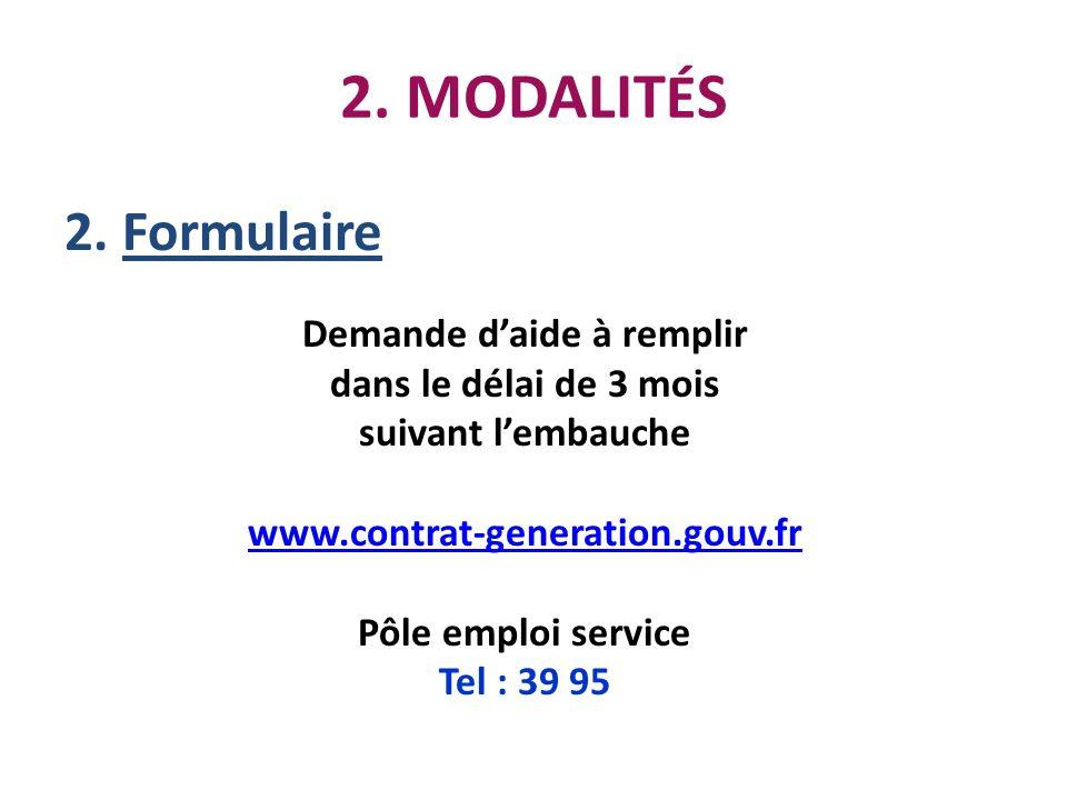 Demande d'aide à remplir Pôle emploi service Tel : 39 95