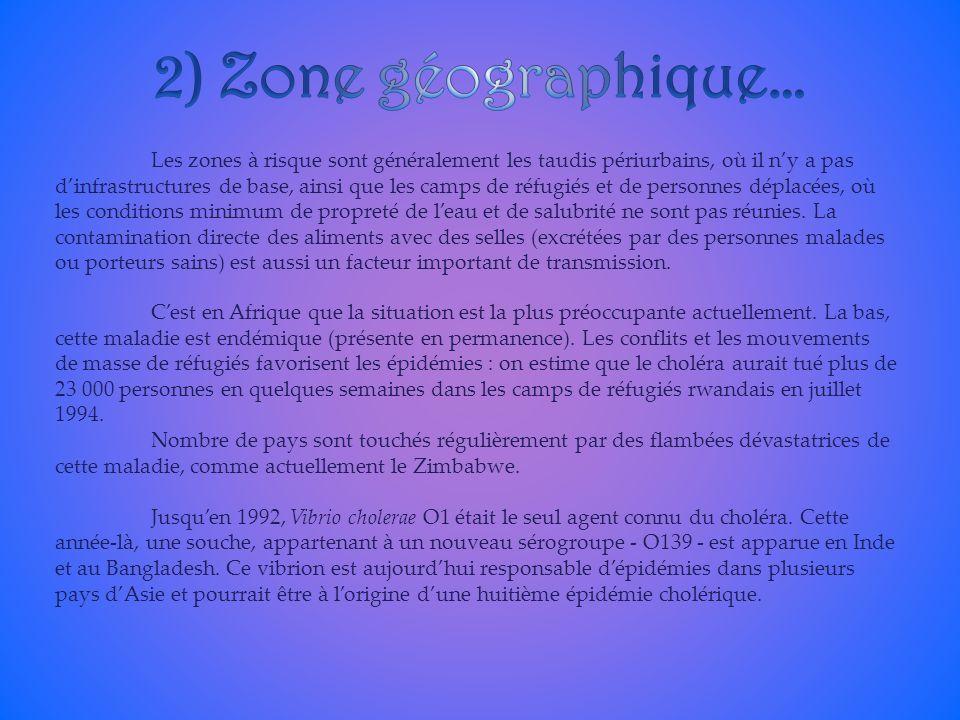 2) Zone géographique…