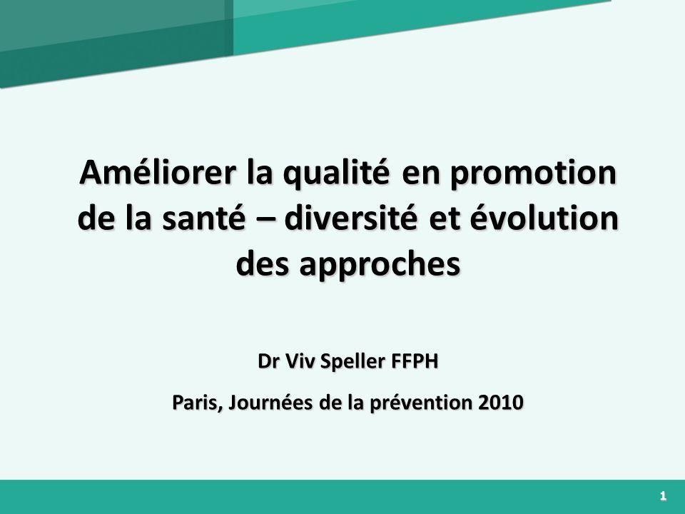 Paris, Journées de la prévention 2010