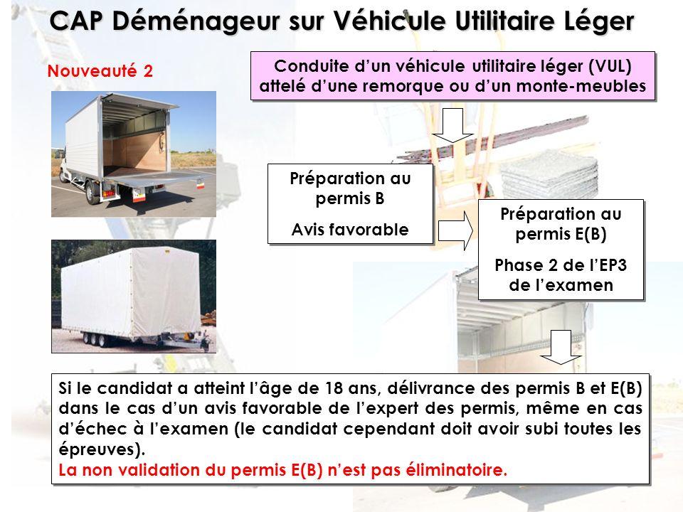 Préparation au permis B Avis favorable Préparation au permis E(B)