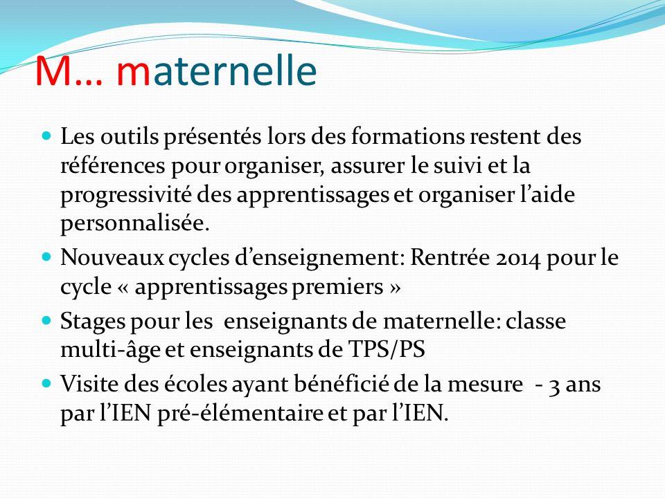 M… maternelle