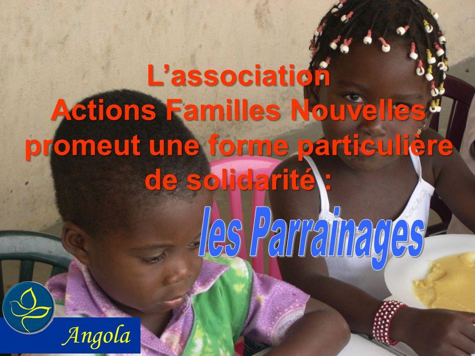L'association Actions Familles Nouvelles promeut une forme particulière de solidarité : les Parrainages.