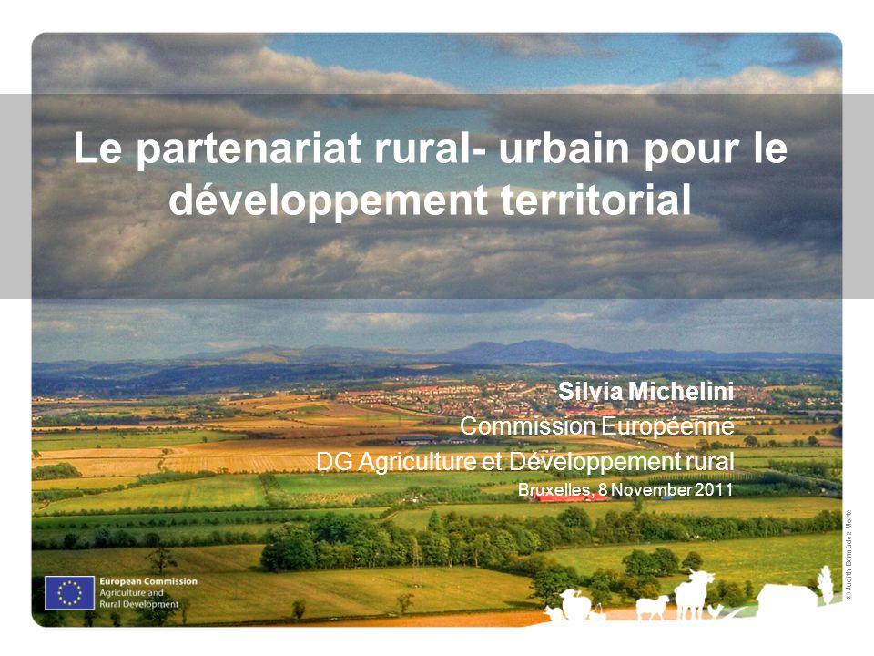 Le partenariat rural- urbain pour le développement territorial