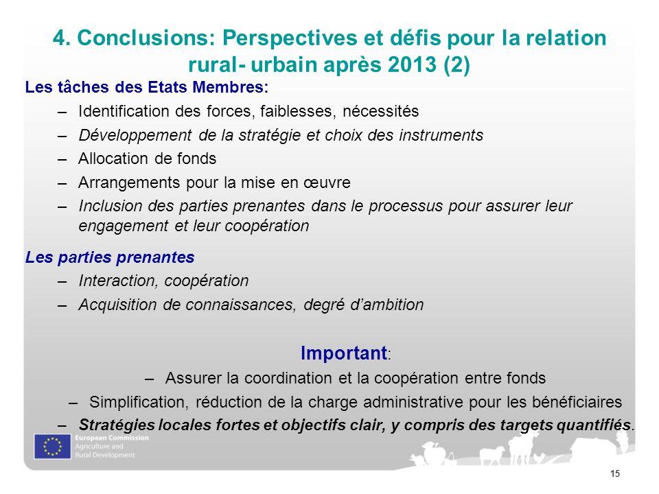 Assurer la coordination et la coopération entre fonds