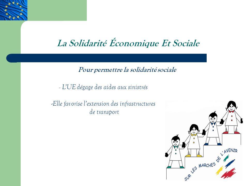 La Solidarité Économique Et Sociale