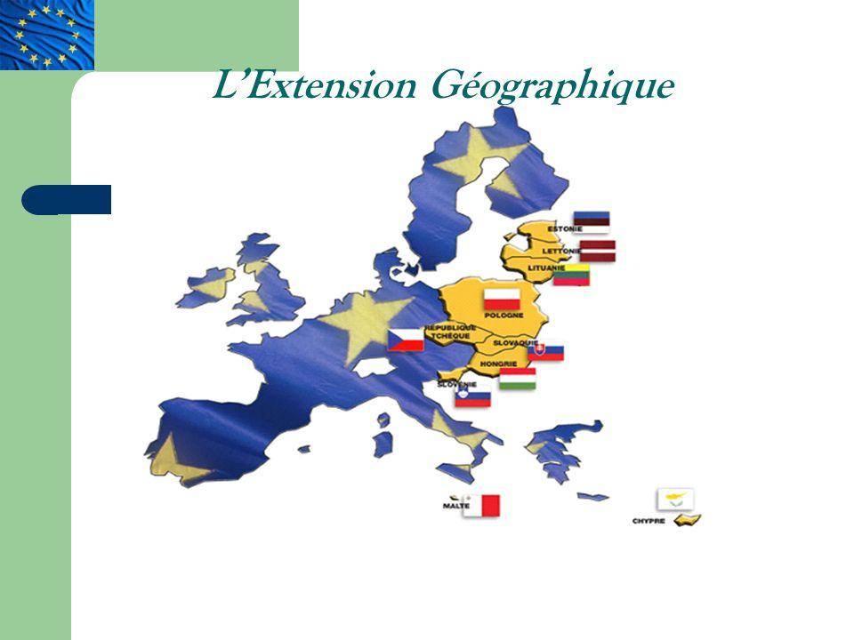 L'Extension Géographique