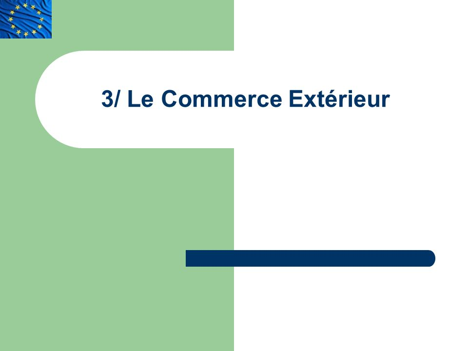 La construction europeenne ppt t l charger for Le commerce exterieur du japon