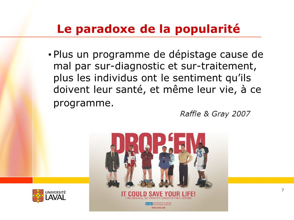 Le paradoxe de la popularité