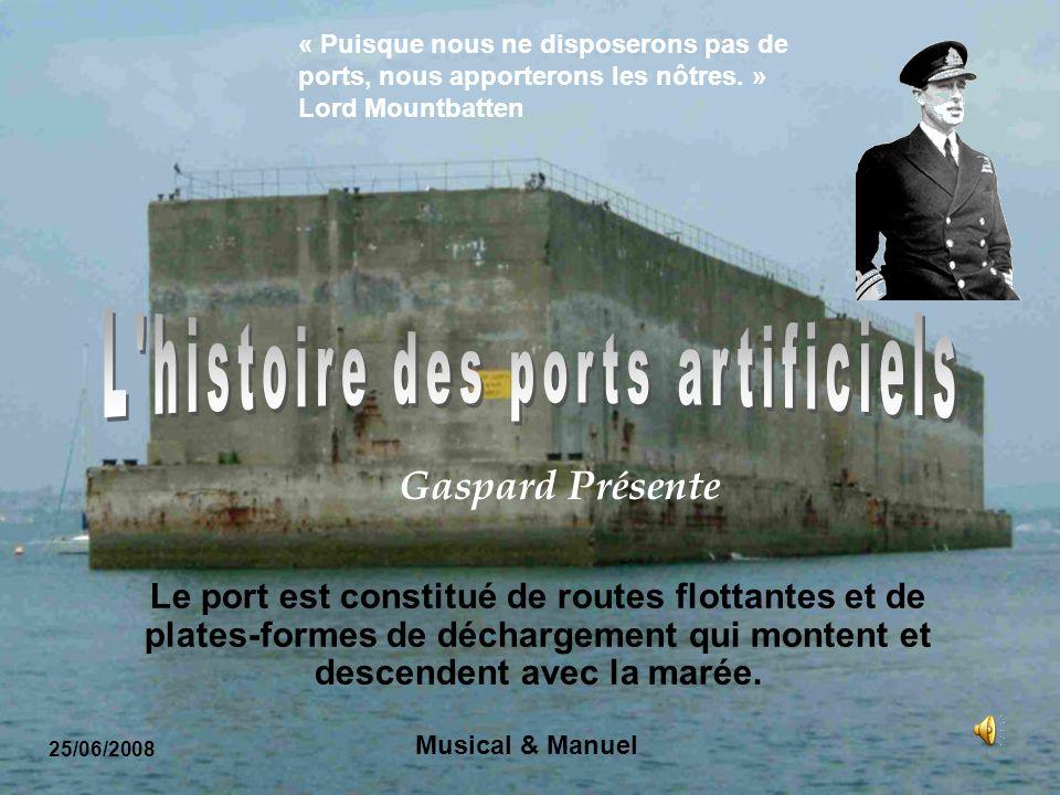 L histoire des ports artificiels