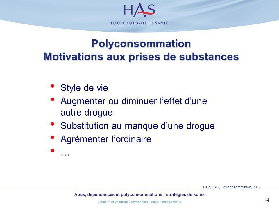 Polyconsommation Projet d'assistance et de traitement